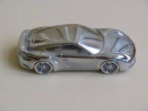 【送料無料】模型車 モデルカー スポーツカー ポルシェターボモデルporsche 911 turbo  limited edition model 143 briefbeschwerer