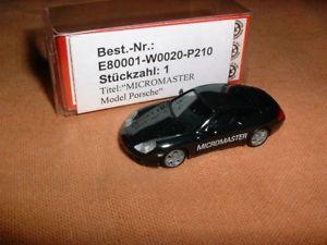 【送料無料】模型車 モデルカー スポーツカー モデルポルシェマイクロマスタードライブ