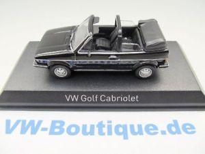 【送料無料】模型車 モデルカー スポーツカー ゴルフブラック vw golf 1 cabrio von norev in 143 schwarz 840074  neu
