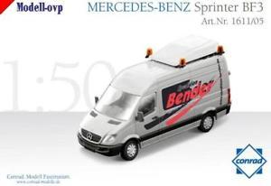【送料無料】模型車 モデルカー スポーツカー メルセデスベンツスプリンタートラフィックコンラッドモデルコンmercedes benz sprinter bf3 schwerlastverkehr bender conrad modelle con 161105