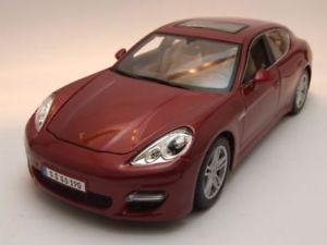 【送料無料】模型車 モデルカー スポーツカー ポルシェパナメーラターボレッドメタリックモデルカーporsche panamera turbo 2010 rot metallic, modellauto 118 maisto