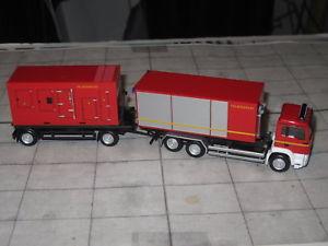 【送料無料】模型車 モデルカー スポーツカー herpa 307536 man tgsm euro 5 hakenlift mit container und stromaggregat fw
