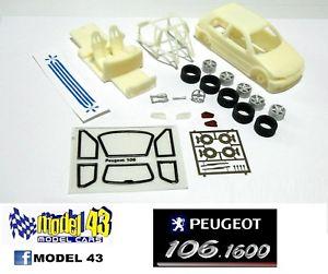 【送料無料】模型車 モデルカー スポーツカー プジョーキットpeugeot 106  1600   kit montaggio