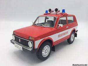 【送料無料】模型車 モデルカー スポーツカー ラダlada niva feuerwehr 1978 118 mcg  lt;lt;