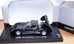 【送料無料】模型車 モデルカー スポーツカー ランボルギーニkoysho 143 03201bks lamborghini jota svr, schwarzsilbern