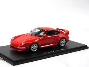 【送料無料】模型車 モデルカー スポーツカー スパークポルシェスポーツspark s0724 ruf ctr2 sport based on porsche 911 993 1996 red 143