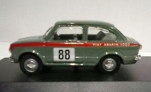 【送料無料】模型車 モデルカー スポーツカー モデルイタリアフィアットアバルトtel model by scottoy 143 made in italy fiat abarth 1000 gara tel 015