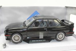 【送料無料】模型車 モデルカー スポーツカー スポーツエボリューションsolido 421184380 bmw m3 e30 evo sport evolution 1990 schwarz neu 118 ovp