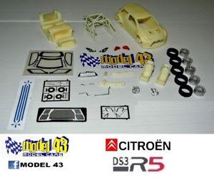 【送料無料】模型車 モデルカー スポーツカー シトロエンキットcitroen ds3 r5   kit montaggio