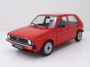 【送料無料】模型車 モデルカー スポーツカー ゴルフレッドモデルカーvw golf 1 l rot, modellauto 118 solido