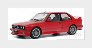 【送料無料】模型車 モデルカー スポーツカー シリーズbmw 3series m3 e30 1990 red solido 118 sl1801502