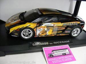 【送料無料】模型車 モデルカー スポーツカー パリチューニングショー118 norev gallardo cesam yokohama paris tuning show