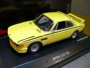 【送料無料】模型車 モデルカー スポーツカー イエロー143 schuco bmw 30 csl gelb 450219000