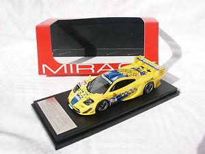 【送料無料】模型車 モデルカー スポーツカー マクラーレン#ヨハンソンレーシングmclaren f1 gtr 27 johanssongoodwinayles suzuka 1997 143 hpi racing