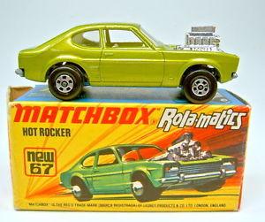 【送料無料】模型車 モデルカー スポーツカー マッチホットロッカボックスグリーンメタリックトップ