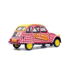 【送料無料】模型車 モデルカー スポーツカー シトロエンcitroen 2 cv 6 cochonou 1184670  118 solido