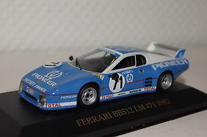 【送料無料】模型車 モデルカー スポーツカー フェラーリ#ネットワークferrari bb512lm 71 1982 143 ixo neu amp; ovp fer006