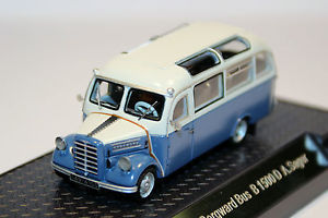 【送料無料】模型車 モデルカー スポーツカー バスnpe borgward b 1500 d bus sager, delmenhorst 99002