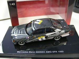 【送料無料】模型車 モデルカー スポーツカー スパ#143 autoart mb 500 sec w126 amg spa 1989 5