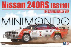 【送料無料】模型車 モデルカー スポーツカー キットルピーサファリラリールピーkit nissan 240rs bs110 rally safari 1984 124 aoshima 24014 beemax 240 rs