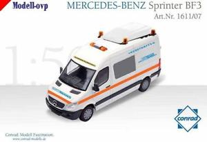 【送料無料】模型車 モデルカー スポーツカー メルセデスベンツスプリンタートラフィックコンラッドモデルコンmercedes benz sprinter bf3 schwerlastverkehr bautrans conrad modelle con 161107