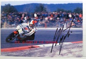 【送料無料】模型車 モデルカー スポーツカー ×ジャコモアゴスティーニヤマハフランスオートバイphoto cm10x15 signed by giacomo agostini yamaha yzr500 french gp motorcycle 1975