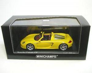 【送料無料】模型車 モデルカー スポーツカー スピードイエローポルシェカレラporsche carrera gt speedgelb 2003