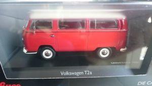 【送料無料】模型車 モデルカー スポーツカー バス143 schuco vw t2a bus l luxusbus rot wei 450333900