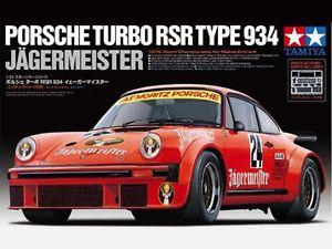 【送料無料】模型車 モデルカー スポーツカー キットタミヤポルシェターボタイプイェーガーマイスターkit tamiya 124 auto porsche turbo rsr type 934 jagermeister art 24328