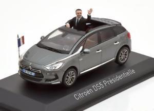 【送料無料】模型車 モデルカー スポーツカー シトロエンプレ143 norev citroen ds5 prsidentielle with figurine 2012