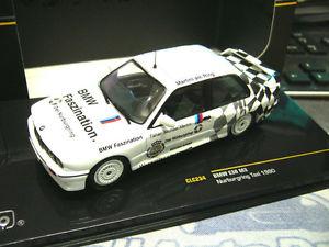 【送料無料】模型車 モデルカー スポーツカー ニュルブルクリンクタクシーマティーニネットワーククラシックbmw m3 e30 nrburgring taxi 1990 warsteiner martini ixo clc234 rare 143