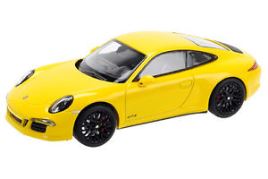 【送料無料】模型車 モデルカー スポーツカー ポルシェカレラレーシングイエローschuco porsche 911 carrera gts racing gelb 143 07572