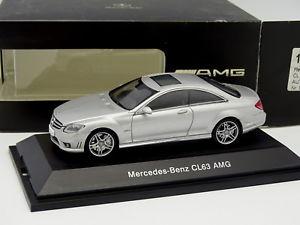 【送料無料】模型車 モデルカー スポーツカー メルセデスタイプシルバーauto art 143 mercedes cl63 amg silver