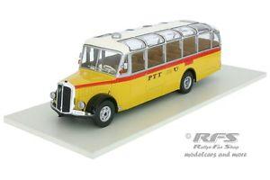 【送料無料】模型車 モデルカー スポーツカー バススイスポストネットワークバスsauer l4c ptt bus baujahr 1959 schweizer post 143 ixo bus 003