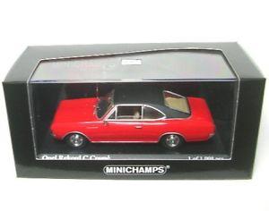 【送料無料】模型車 モデルカー スポーツカー オペルクーペopel rekord c coupe rallyrotschwarz 1966