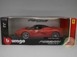 【送料無料】模型車 モデルカー スポーツカー フェラーリフェラーリレッドレースferrari laferrari red race amp; play burago 118 bu160013re