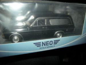 【送料無料】模型車 モデルカー スポーツカー ネオフォード143 neo ford taunus p7 pollmann leichenwagen 1969 nr 45265 in ovp