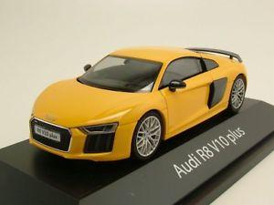 【送料無料】模型車 モデルカー スポーツカー アウディプラスイエローモデルカーaudi r8 v10 plus 2012 gelb, modellauto 143 herpa