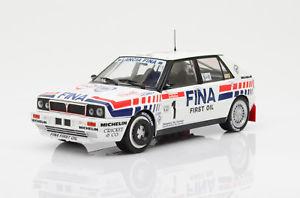 【送料無料】模型車 モデルカー スポーツカー ランチアデルタ#ツールドコルスlancia delta integrale 16v 1 * tour de corse 1991 * solido, 118