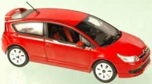 【送料無料】模型車 モデルカー スポーツカー シトロエンローブロッソcitroen c4 by loeb 2007 norev rosso 143