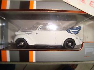 【送料無料】模型車 モデルカー スポーツカー ネットワークボルボカブリオレブランヌフ ixo prd 573 volvo pv 51 cabriolet blanc neuf en boite 143