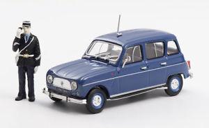 【送料無料】模型車 モデルカー スポーツカー ルノーrenault 4 1969 gendarmerie figurine eligor