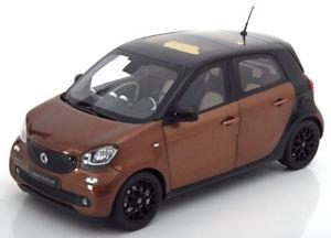 【送料無料】模型車 モデルカー スポーツカー スマートフォーフォーブラウンメタリックブラック