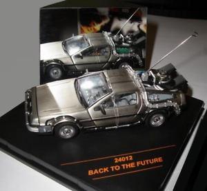 【送料無料】模型車 モデルカー スポーツカー en voiture delorean 1 le retour vers au le futur i en mtal au 143, 鍵の鉄人:aff6b5fb --- sunward.msk.ru