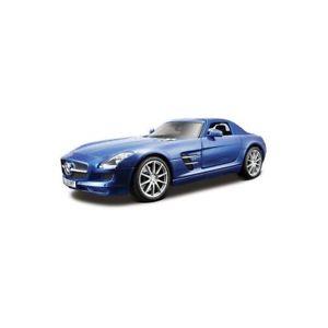 【送料無料】模型車 モデルカー スポーツカー トウモロコシメルセデスガルウィングmaisto mais36196 mercedes sls gullwing bleue 118