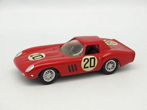 【送料無料】模型車 モデルカー スポーツカー フェラーリキットモンメタルルマンfds kit mont mtal 143 ferrari 250 gto le mans 1964