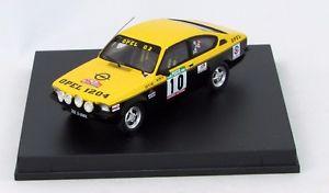 【送料無料】模型車 モデルカー スポーツカー オペルポルトガルラリーヴィラールopel kadett gte 1st gr2 portugal rally 1977 mequepevilar 143 trofeu