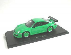 【送料無料】模型車 モデルカー スポーツカー ポルシェruf porsche rgt green 2006