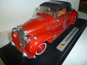【送料無料】模型車 モデルカー farbe ovpseltene スポーツカー メルセデスベンツカブリオレモデル1950 mercedesbenz models 170s cabriolet 118 rotsignature models ovpseltene farbe, KenBrand:0606bdc5 --- sunward.msk.ru