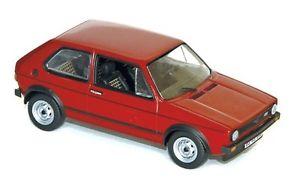 【送料無料】模型車 モデルカー スポーツカー フォルクスワーゲンゴルフレッドvw golf i gti red 1976 norev 143 840046